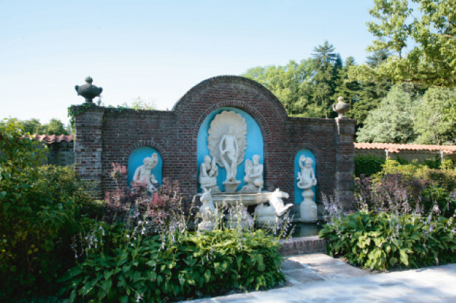 Engelse Landschapsstijl Tuin : Rijkelijk bebost landgoed in engelse landschapsstijlu201d hoffelijke